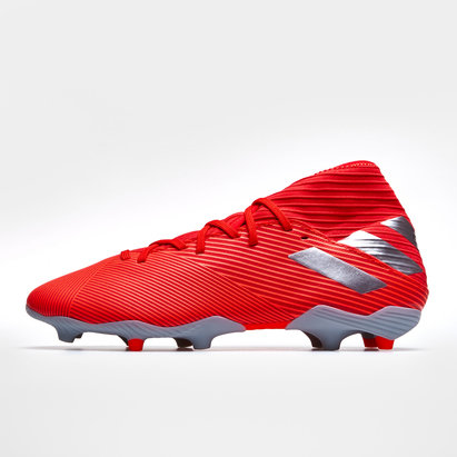 adidas Nemezis 19.3, Crampons de Football pour enfants, Terrain sec