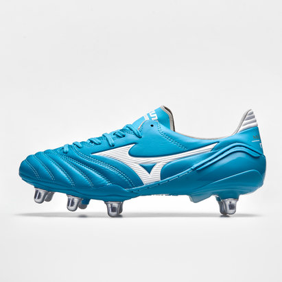 Mizuno Morelia Neo II SI, Chaussures crampons pour terrain mou