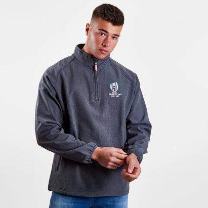 Coupe du monde de Rugby 2019 RWC, Sweatshirt à capuche avec zip