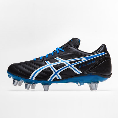Asics lethal Charge, Crampons de Rugby, Terrain mou
