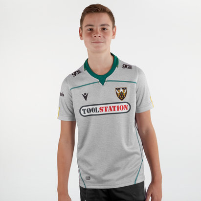 Macron Northampton Saints 2019/20 Kids Alternate S/S Replica Shirt