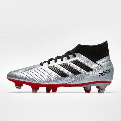 adidas Predator 19.3, Crampons de Football, Terrain mou
