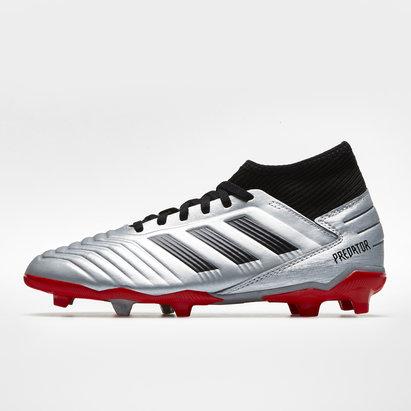 adidas Predator 19.3, Crampons de Football pour enfants, Terrain sec