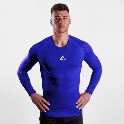 adidas Alphaskin Sport, T-shirt de compression, manches longues