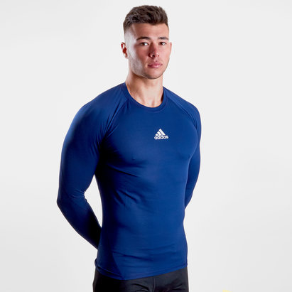adidas Alphaskin, T-shirt de compression, manches longues