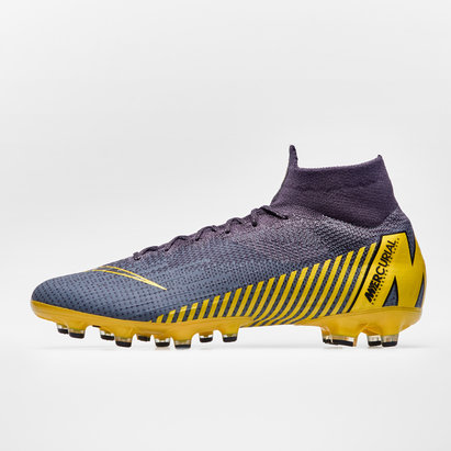Nike Mercurial Superfly VI Elite, Crampons de Football Pro, Terrain synthétique
