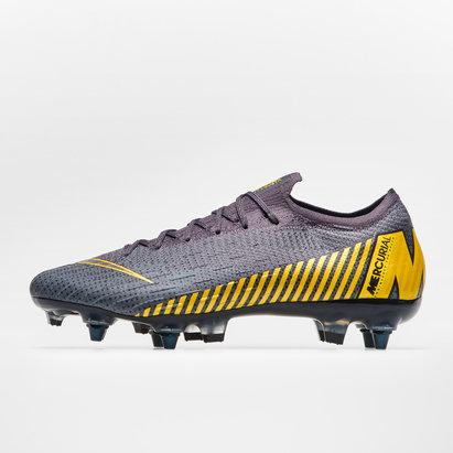Nike Mercurial Vapor XII Elite, Crampons de Football Pro, Terrain mou