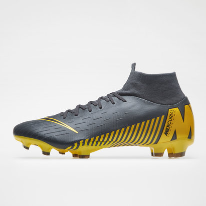 Nike Mercurial Superfly VI, Crampons de Football Pro, Terrain sec
