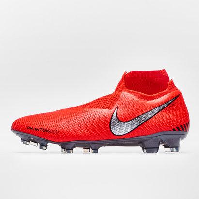 Nike Phantom Vision Elite, Crampons de Football pour défenseurs, Terrain sec