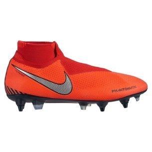 Nike Phantom Vision Elite, Crampons de Football pour défenseurs, Terrain mou