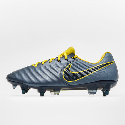 Nike Tiempo Legend VII Elite, Crampons de Football anti obstructions, Terrain mou
