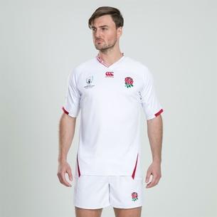Canterbury Maillot de Rugby pour hommes Angleterre domicile coupe du monde RWC 2019