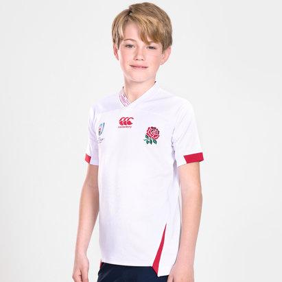 Canterbury Maillot de Rugby pour enfants Angleterre extérieur coupe du monde RWC 2019