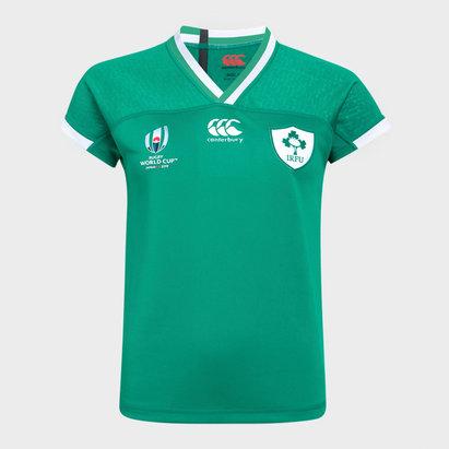 Canterbury Maillot de Rugby pour femmes Irlande domicile IRFU coupe du monde RWC 2019