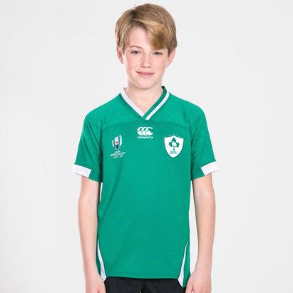 Canterbury Maillot de Rugby pour adolescents Irlande domicile IRFU coupe du monde RWC 2019