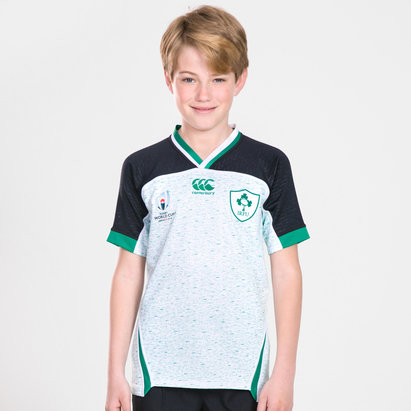 Canterbury Maillot de Rugby pour adolescents Irlande IRFU coupe du monde RWC 2019