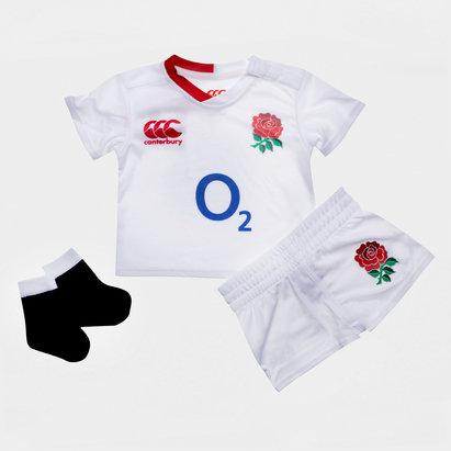 Canterbury Kit Replica pour bébé, Angleterre domicile 2019/2020