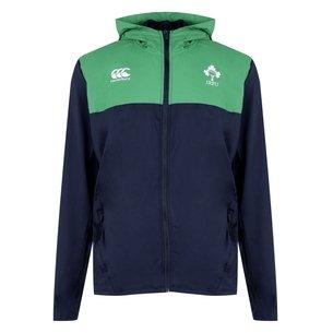Canterbury Sweatshirt à capuche avec zip intégral, Irlande IRFU 2019/2020