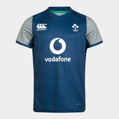 Canterbury Irelande IRFU 2019/2020, T-shirt d'entrainement pour jeunes enfants