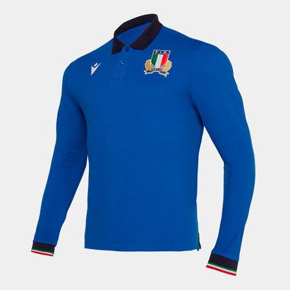 Macron Polo de rugby Italie 2019/2020
