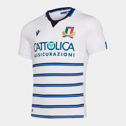 Macron Maillot de Rugby réplique, Italie 2019/2020 extérieur, pour enfants