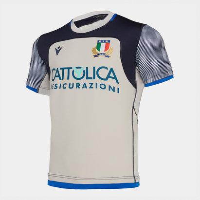 Macron Maillot d'entraînement Joueurs de Rugby, Italie 2019/2020