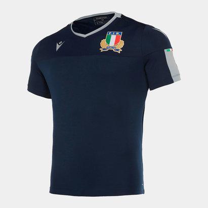 Macron T-shirt d'entraînement de Gym/ Rugby, Italie 2019/2020