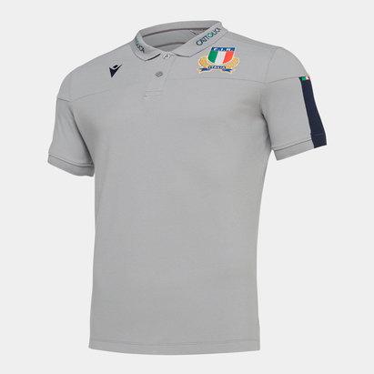 Macron Polo de voyage pour joueurs de rugby, Italie 2019/2020