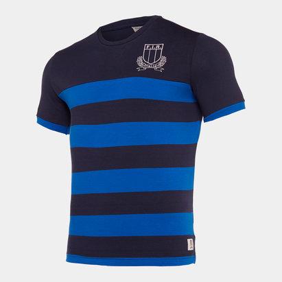 Macron T-shirt de rugby loisirs, Italie 2019/2020