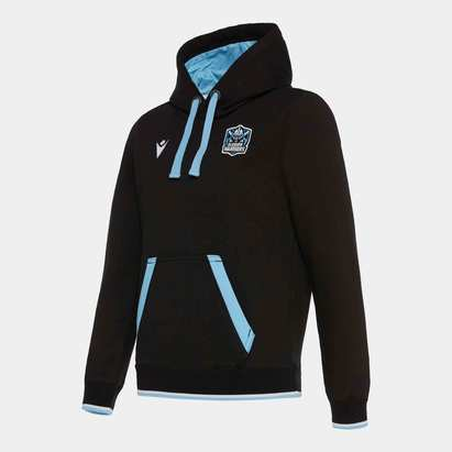 Macron Glasgow Warriors 2019/20 Kids Heavy Hooded Sweat