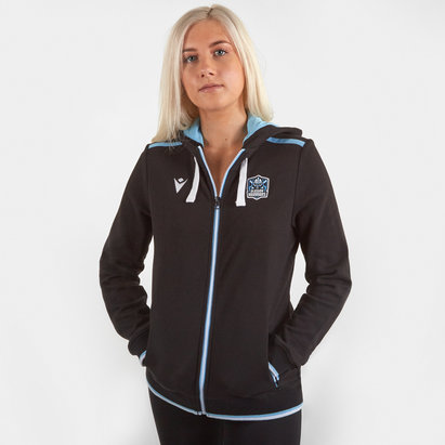 Macron Glasgow Warriors 2019/20 Ladies Cotton Hooded Sweat