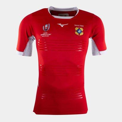 Mizuno Réplique maillot de Rugby des Tonga coupe du monde 2019, pour enfants