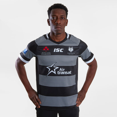 ISC Toronto Wolfpack 2019 extérieur, Maillot manches courte de Rugby