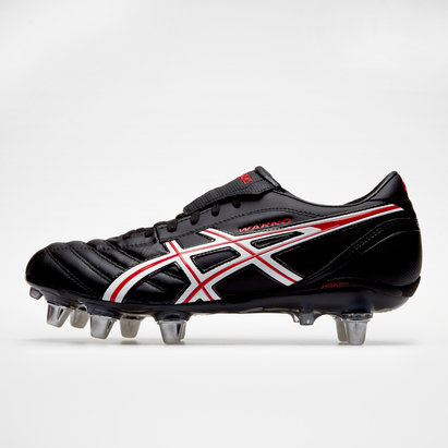 Asics Lethal Warno ST 2 SG, Crampons de Rugby