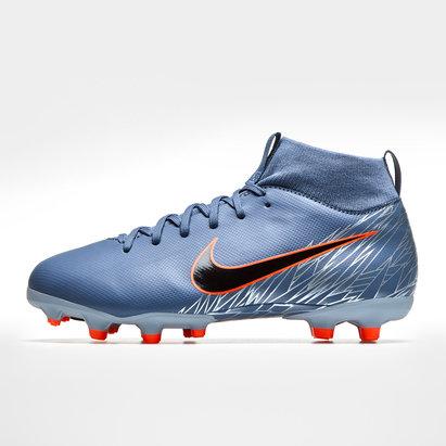 Nike Mercurial Superfly VI Academy, Crampons de Football pour enfants, Terrain sec/Multi-Surfaces