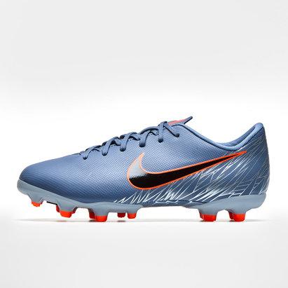 Nike Mercurial Vapor XII Academy, Crampons de Football pour enfants, Terrain dur/ Multi-surfaces