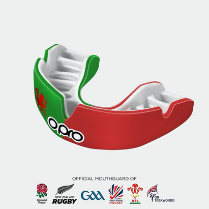 Opro Power Fit Countries Flags Adult Mouth Guard