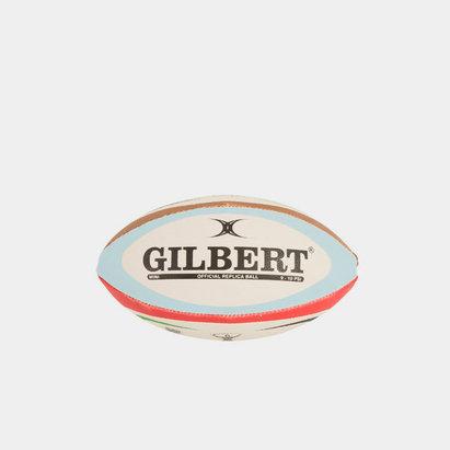 Gilbert Mini Ballon de Rugby Réplica, Harlequins