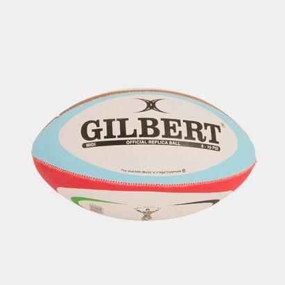 Gilbert Mini Réplica Ballon de Rugby Harlequins