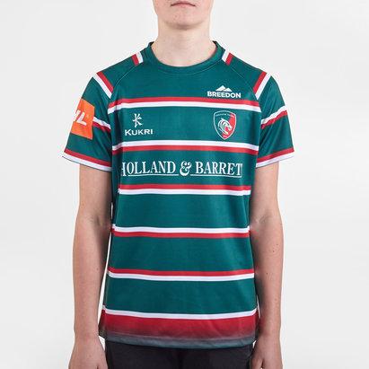 Kukri Maillot de Rugby Réplica, Leicester Tigers Domicile 2019/2020 pour ado