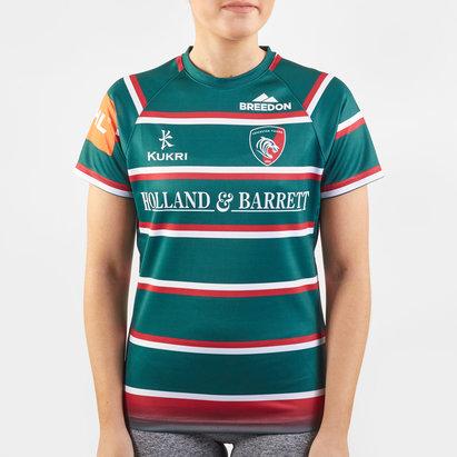 Kukri Maillot de Rugby Réplica, Leicester Tigers Domicile 2019/2020 pour femmes