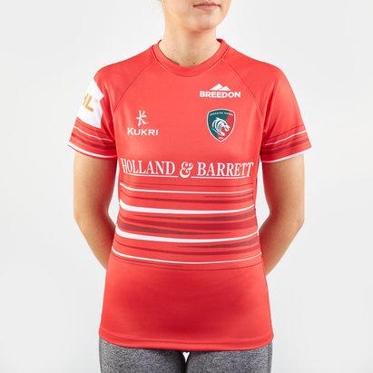 Kukri Maillot de Rugby Réplica, Leicester Tigers Extérieur 2019/2020, pour femmes