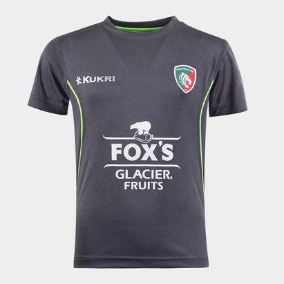 Kukri T-shirt d'entraînement de Rugby enfants, Leicester Tigers 2019/2020