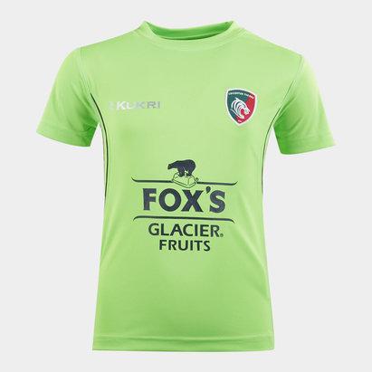 Kukri T-shirt d'entraînement de Rugby, Leicester Tigers 2019/2020, Pour enfants