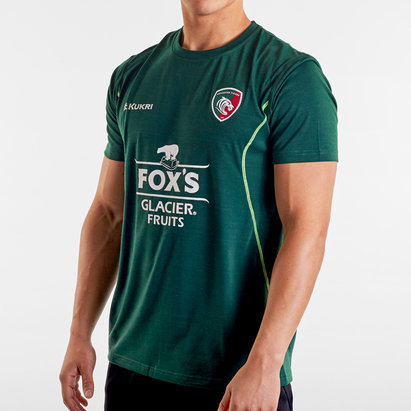 Kukri T-shirt de Rugby Lifestyle, Leicester Tigers 2019/2020