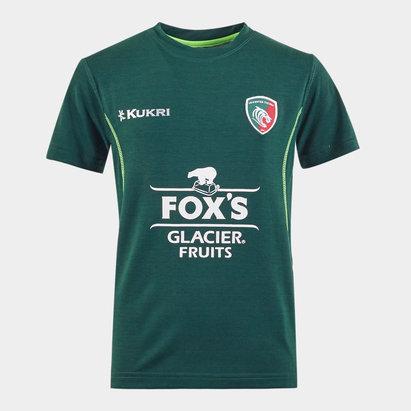 Kukri T-shirt de Rugby Lifestyle, Leicester Tigers 2019/2020, pour enfants