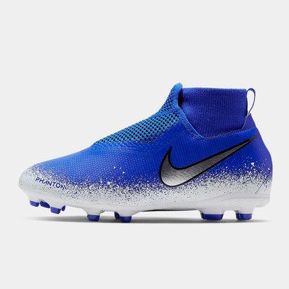 Nike Crampons de Football pour enfants, Phantom Vision Academy, Terrain sec/ Multi-Surface