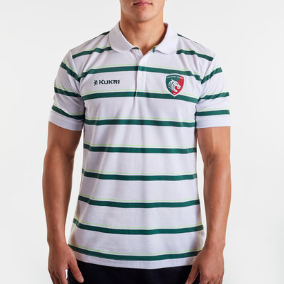 Kukri Polo de Rugby Yarn Dye, Leicester Tigers 2019/2020