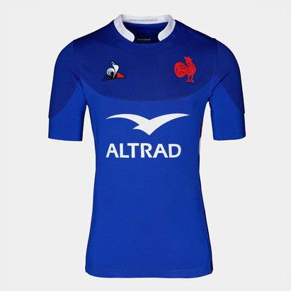 Le Coq Sportif Maillot de rugby réplique Pro du XV de France 2019/2020 domicile