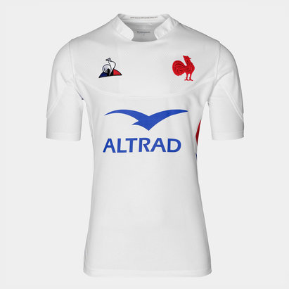Le Coq Sportif Maillot de rugby réplique Pro du XV de France 2019/2020 extérieur